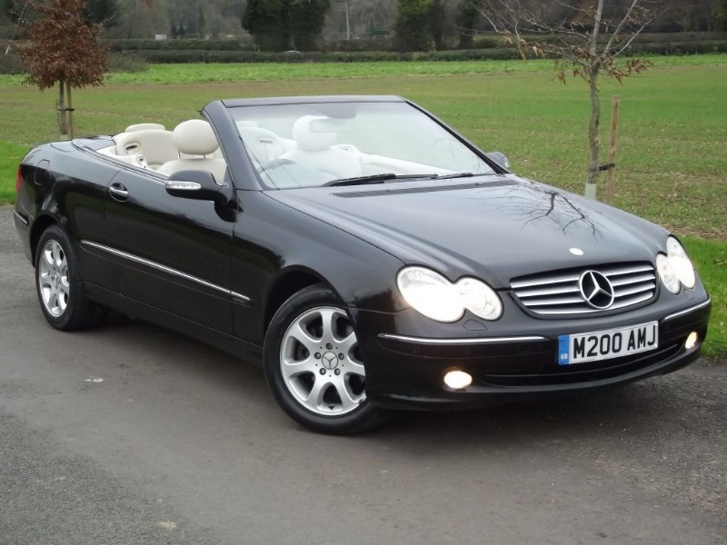 used Mercedes CLK320  in oxfordshire