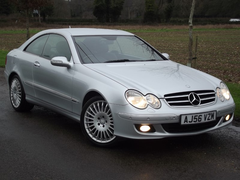 used Mercedes CLK280 AVANTGARDE in oxfordshire
