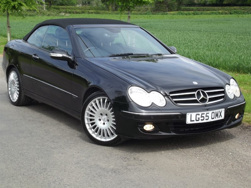 used Mercedes CLK350 AVANTGARDE - 1 OWNER FROM NEW - LOW MILES in oxfordshire