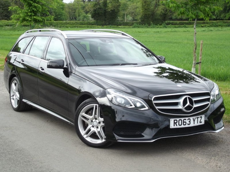 used Mercedes E350 BLUETEC AMG SPORT ESTATE - HUGE SPEC - IMMACULATE CAR in oxfordshire