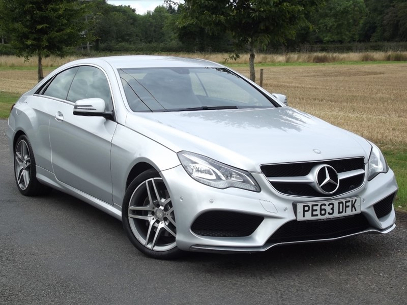 used Mercedes E250 CDI AMG SPORT - 205BHP PADDLESHIFT AUTO in oxfordshire