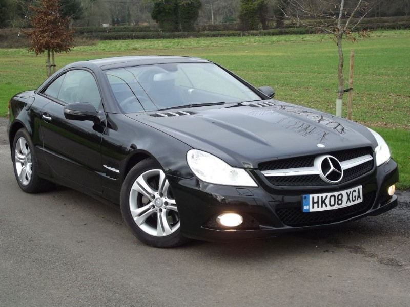 used Mercedes SL SL350 in oxfordshire