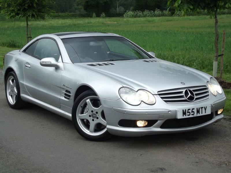 used Mercedes SL55 AMG SL55 AMG KOMPRESSOR - PRISTINE EXAMPLE - PAN ROOF - BOSE HiFi - KEYLESS GO in oxfordshire