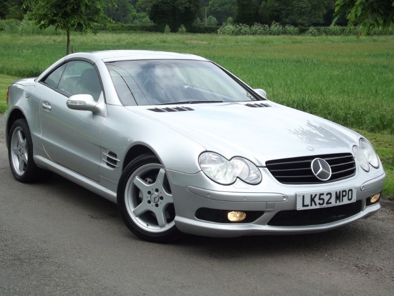 used Mercedes SL500 SL500 - AMG SPORTS LOOK - AMG ALLOYS - BOSE - KEYLESS in oxfordshire