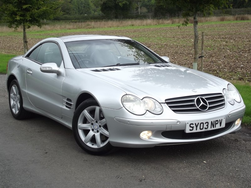 used Mercedes SL SL 500 - LOW MILES - HIGH SPEC in oxfordshire