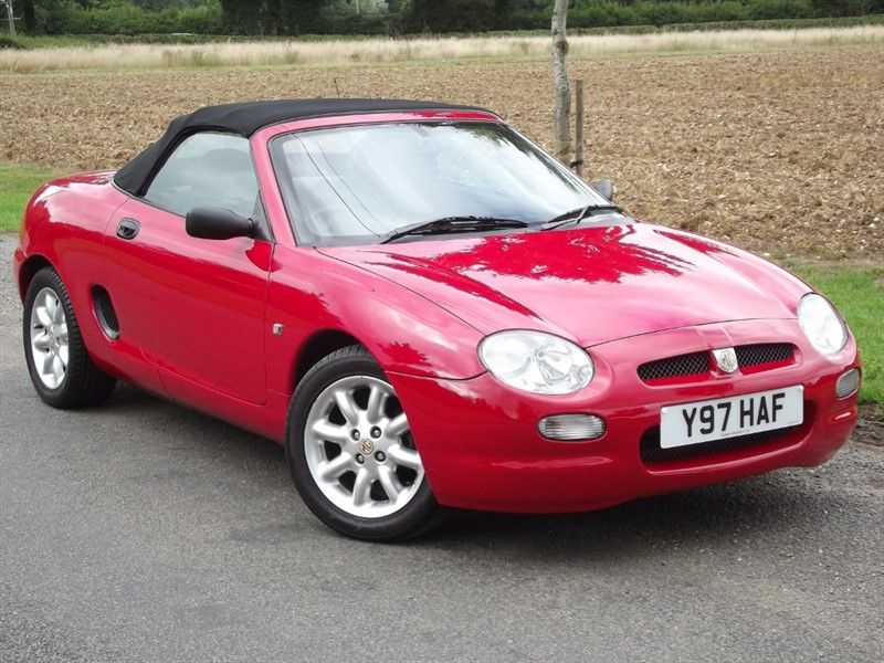 used MG MGF I - SHOWPIECE EXAMPLE - HARDLY USED in oxfordshire