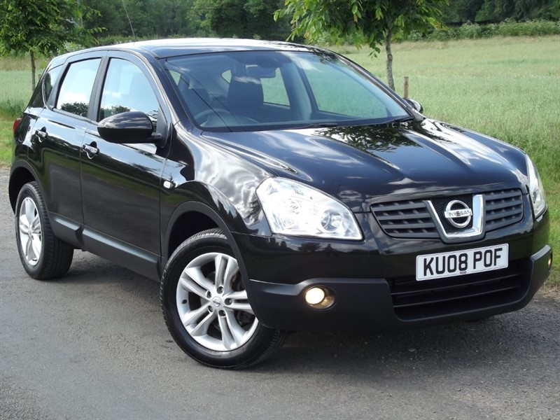 used Nissan Qashqai ACENTA 4WD FOUR WHEEL DRIVE in oxfordshire