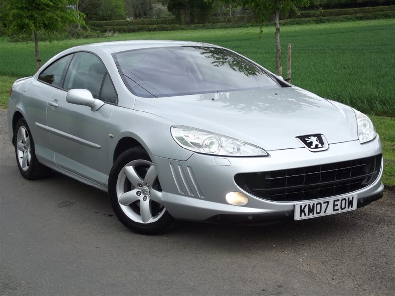 used Peugeot 407 COUPE SE - LOW MILES - CHEAPER TAX in oxfordshire