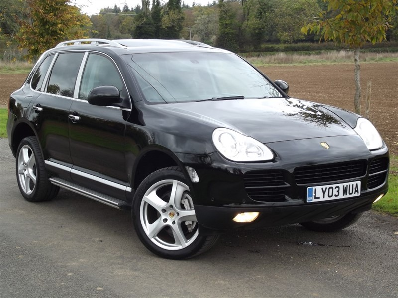used Porsche Cayenne S - TURBO LOOK - SIDE STEPS in oxfordshire