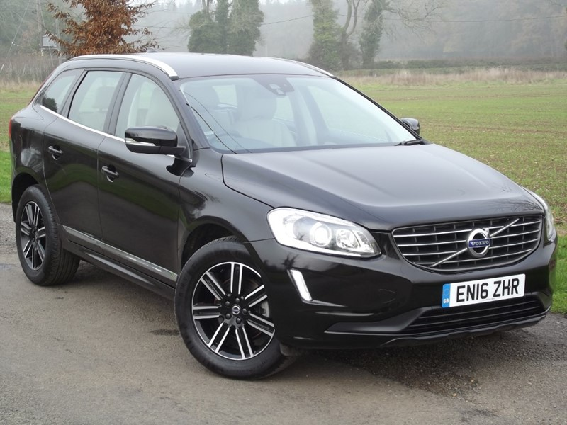used Volvo XC60 D5 SE LUX NAV AWD - CREAM LEATHER in oxfordshire