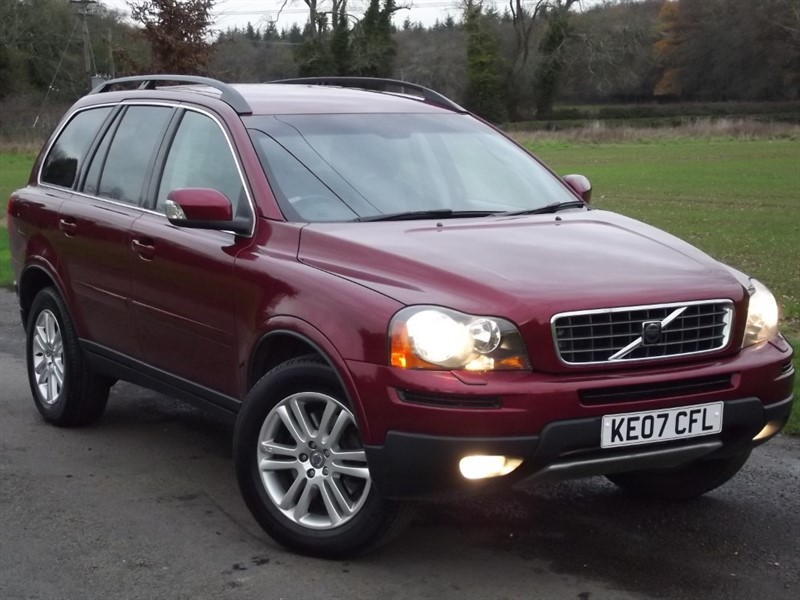 used Volvo XC90 D5 SE - FULL LEATHER - PRIVACY GLASS in oxfordshire