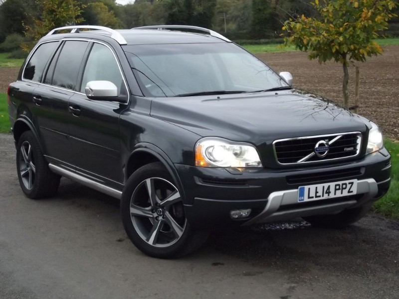 used Volvo XC90 D5 R-DESIGN AWD - FACELIFT 200BHP MODEL in oxfordshire