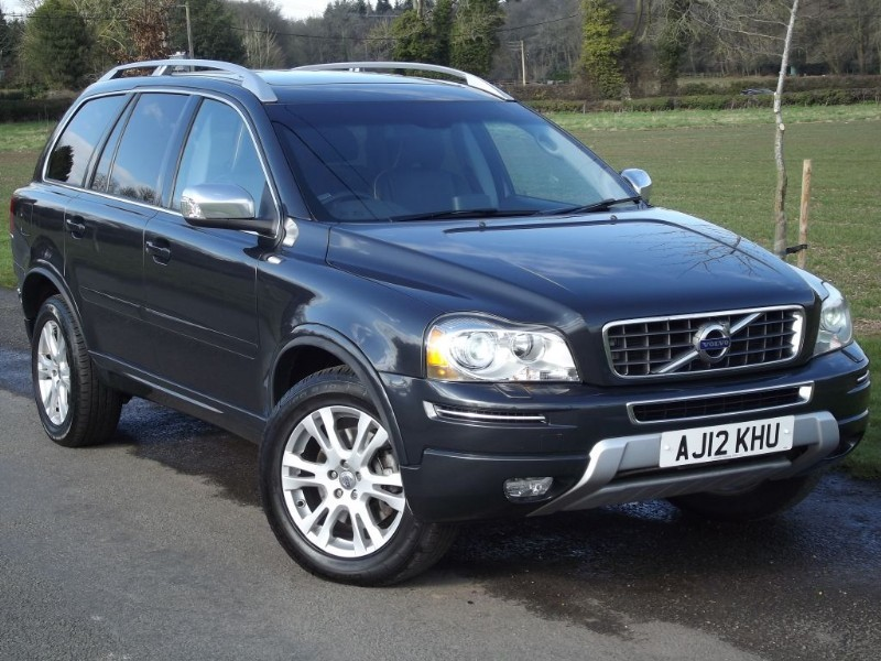 used Volvo XC90 D5 SE LUX AWD - SAT NAV - LOW MILES in oxfordshire
