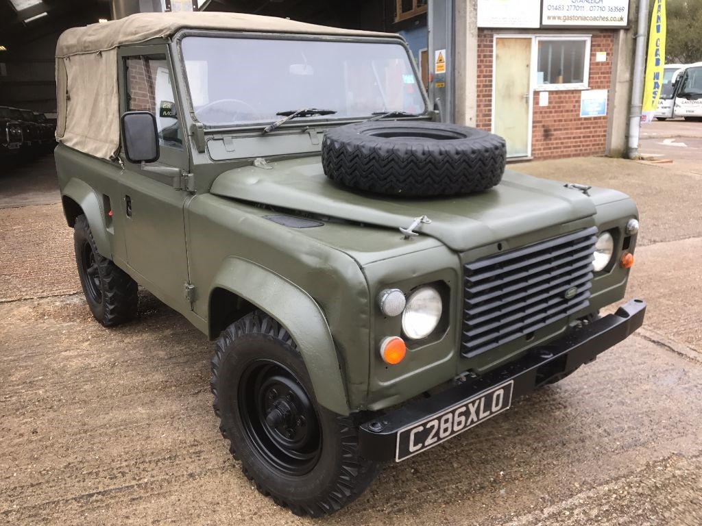 rover defender used land leather asp diesel santorini black landrover with sale vehicle met details for