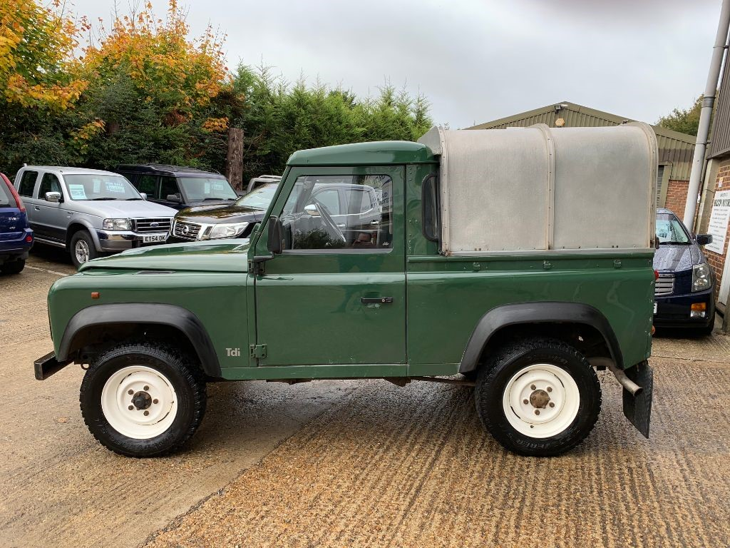 Used Land Rover Defender For Sale Walton Motors 90 Pick Up Tdi Sold Backbrochurebook A Viewing Awaiting Images