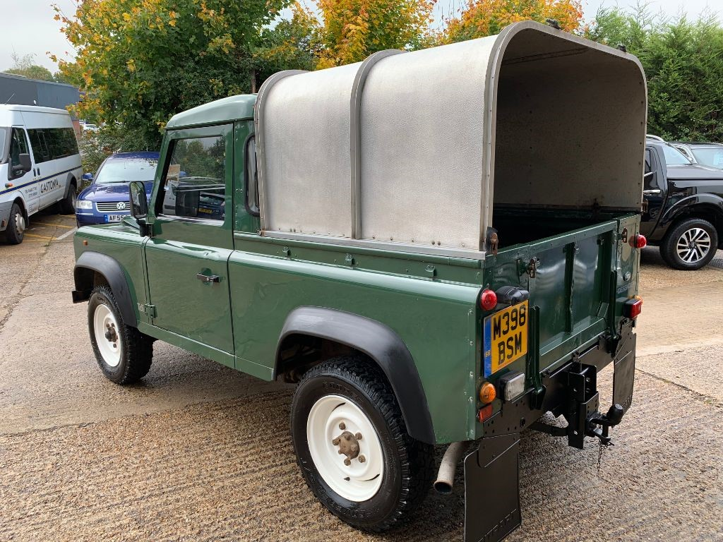 Used Land Rover Defender For Sale Walton Motors 90 Pick Up Tdi