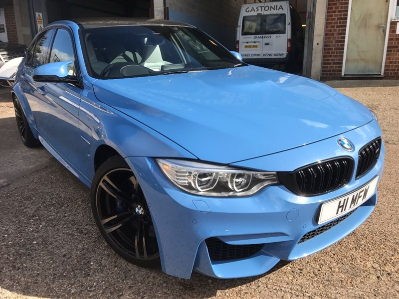 used BMW M3 M4 DCT AUTO in cranleigh-surrey