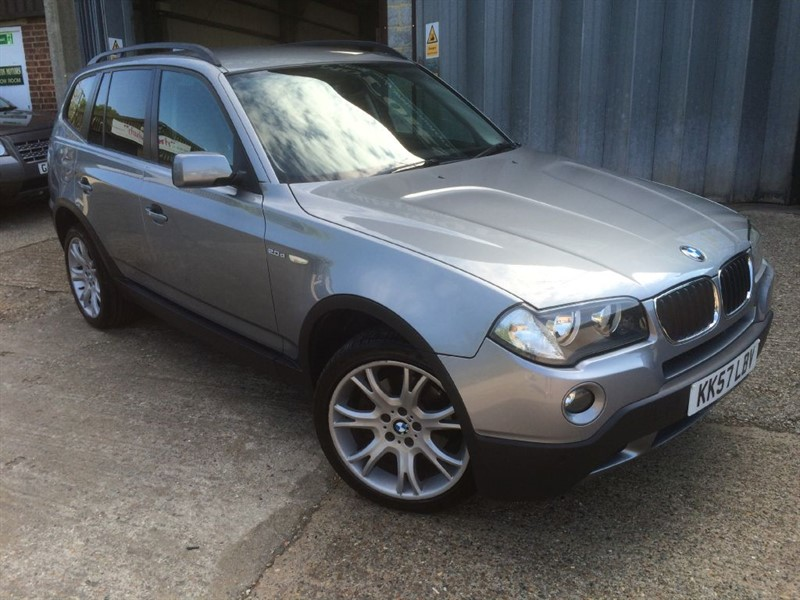 used BMW X3 D SE in cranleigh-surrey