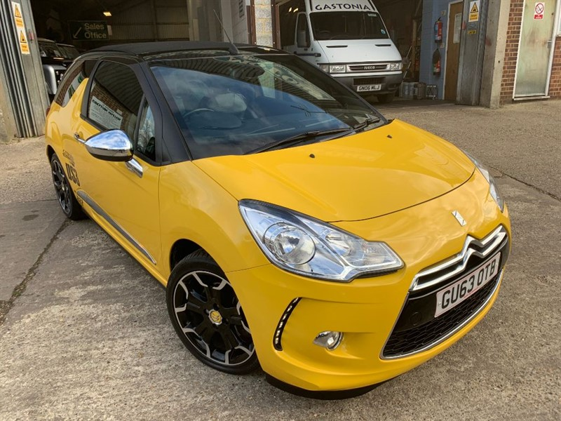 used Citroen DS3 DSPORT PLUS in cranleigh-surrey