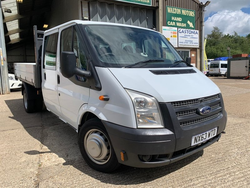 used Ford Transit 350 DRW TIPPER **IMMACULATE CONDITION** HAD VERY LIGHT USE** in cranleigh-surrey
