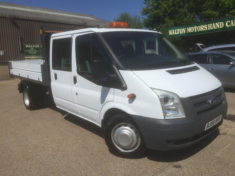 used Ford Transit 115 BHP DOUBLE CAB TIPPER  in cranleigh-surrey