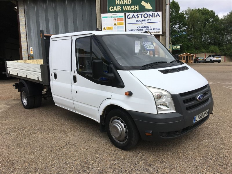 used Ford Transit 350 LWB DCC tipper in cranleigh-surrey