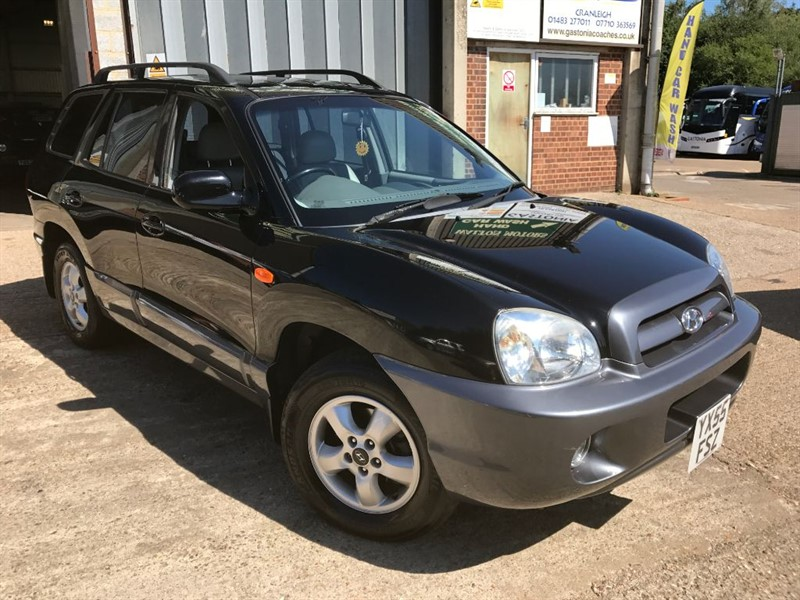 used Hyundai Santa Fe CDX CRTD in cranleigh-surrey