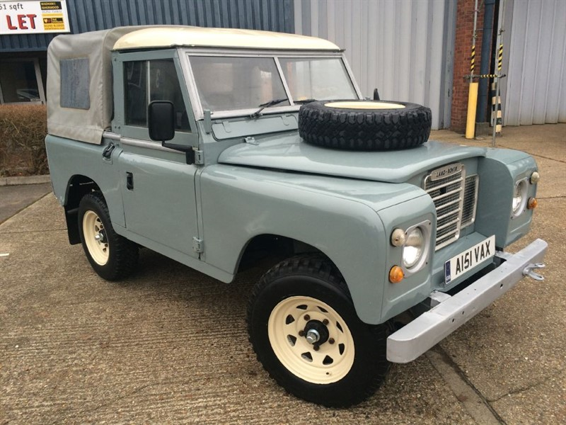 used Land Rover  SERIES 3 DIESEL  in cranleigh-surrey