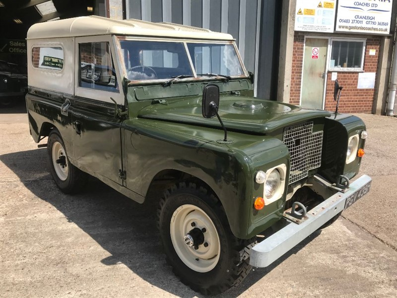 used Land Rover  SERIES 2 88 4 CYL in cranleigh-surrey
