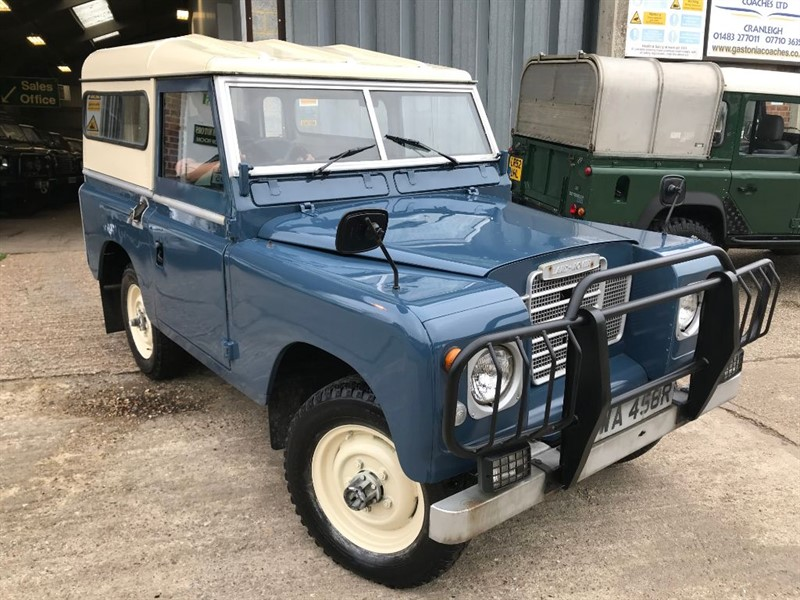 used Land Rover  SERIES 3 88 4 CYL PETROL in cranleigh-surrey