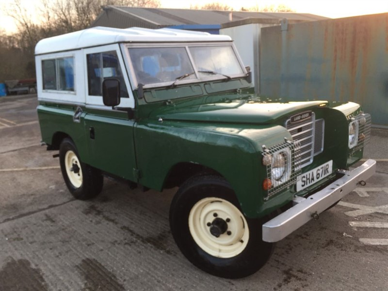 used Land Rover  series 3 swb petrol with rear windows and seats in cranleigh-surrey
