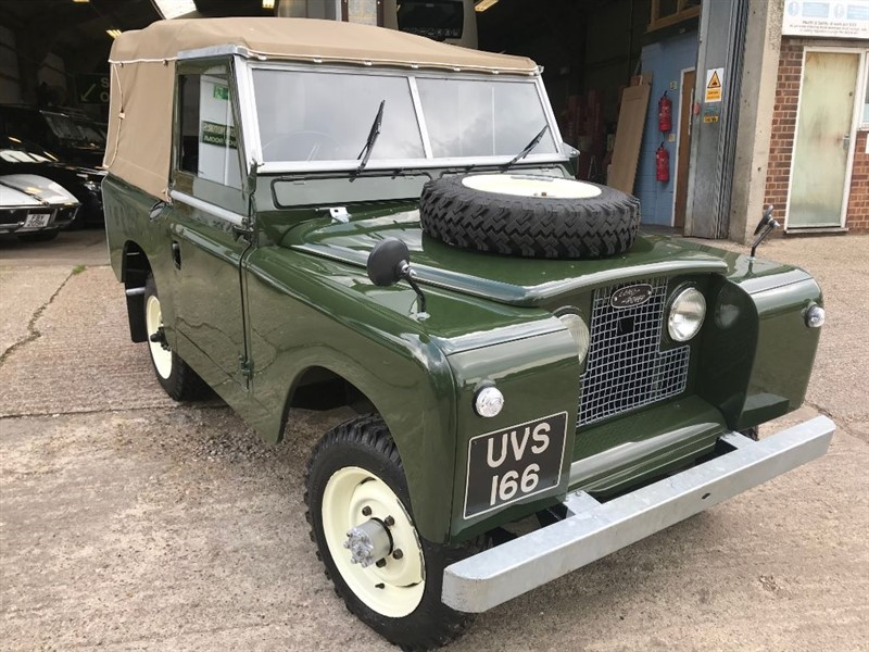 used Land Rover  SERIES 2 88 4 CYL SOFT TOP in cranleigh-surrey
