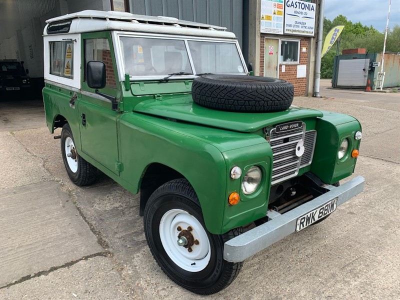 used Land Rover  SERIES 3 88 4 CYL in cranleigh-surrey