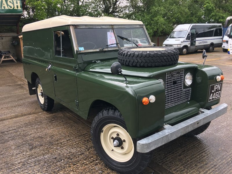 used Land Rover  109 PETROL HARDTOP WITH GALVAISED CHASSIS ONLY 45000 MILES in cranleigh-surrey
