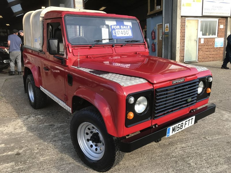 used Land Rover Defender 90 PICK UP TDI in cranleigh-surrey