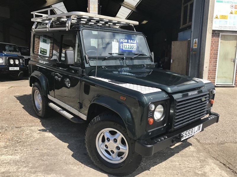 used Land Rover Defender 90 COUNTY SW TD5 in cranleigh-surrey