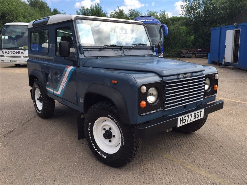 used Land Rover Defender 90 200 TDI HT in cranleigh-surrey