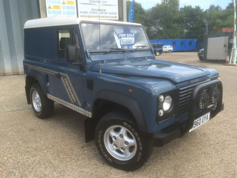 used Land Rover Defender 300 TDI HARDTOP in cranleigh-surrey