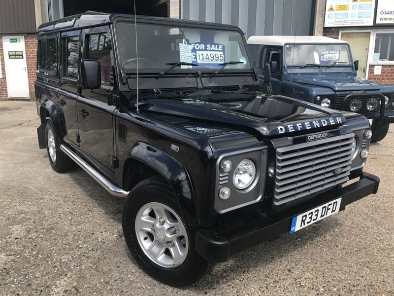 used Land Rover Defender 110 TD5 XS STATION WAGON in cranleigh-surrey
