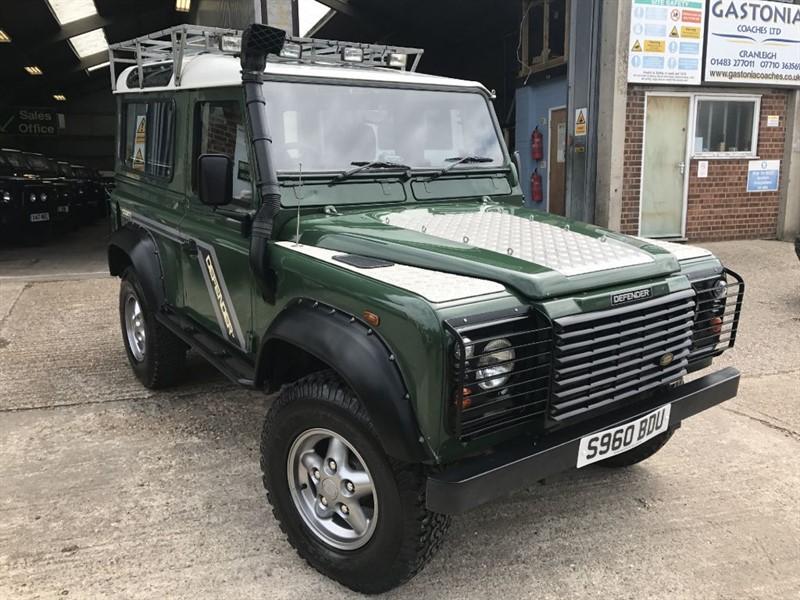 used Land Rover Defender 90 COUNTY SW TDI in cranleigh-surrey
