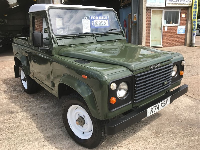 used Land Rover Defender 90 TDI Truck Cab in cranleigh-surrey