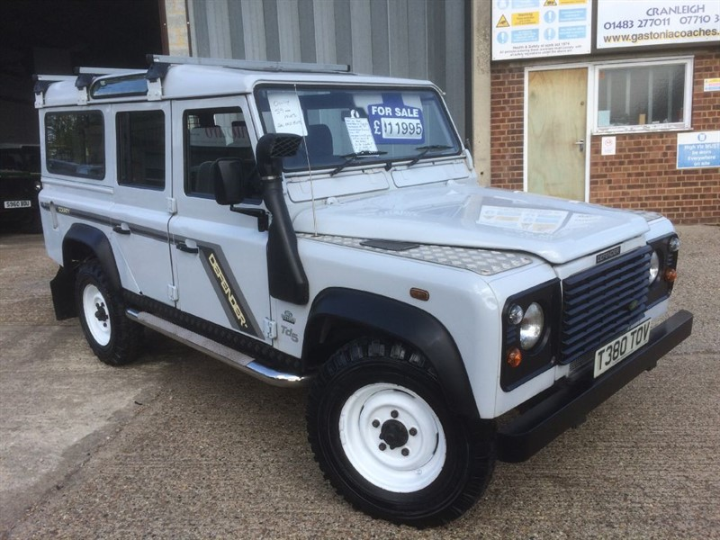 used Land Rover Defender 110 TD5 COUNTY STATION WAGON ONLY 59000 MILES in cranleigh-surrey