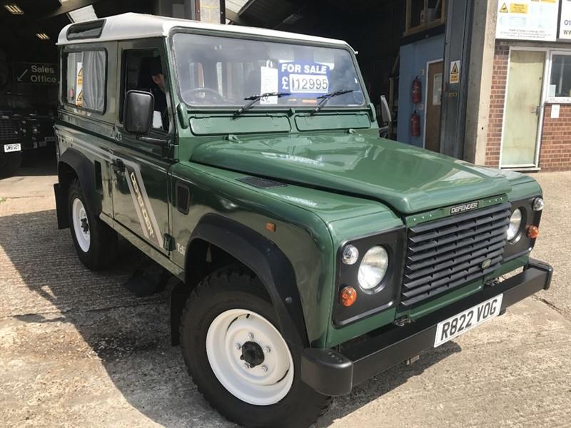 used Land Rover Defender 90 SW TDI in cranleigh-surrey