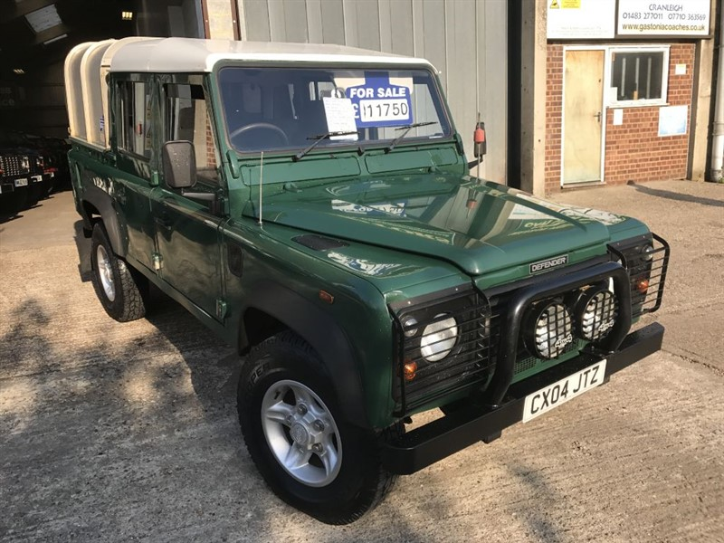 used Land Rover Defender 110 TD5 DOUBLE CAB in cranleigh-surrey