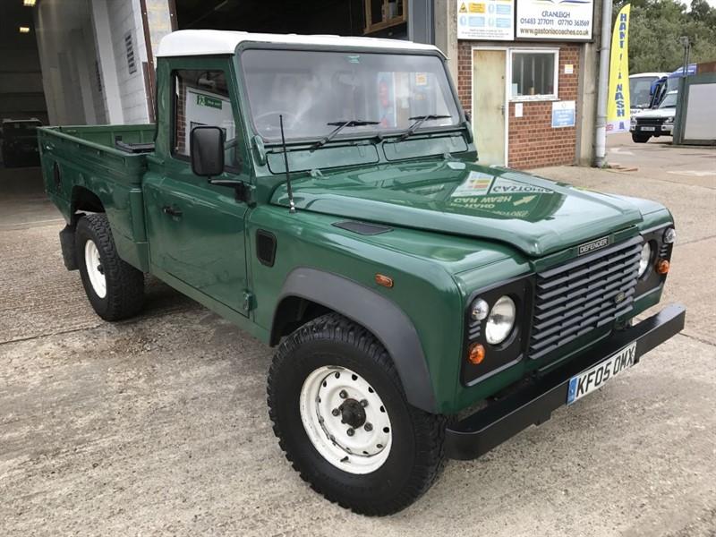 used Land Rover Defender 110 td5 hi capacity in cranleigh-surrey