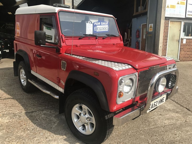 used Land Rover Defender 90 HARD-TOP TD5 in cranleigh-surrey