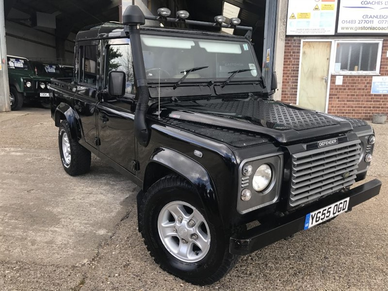 used Land Rover Defender 110 TD5 XS DOUBLE CAB in cranleigh-surrey