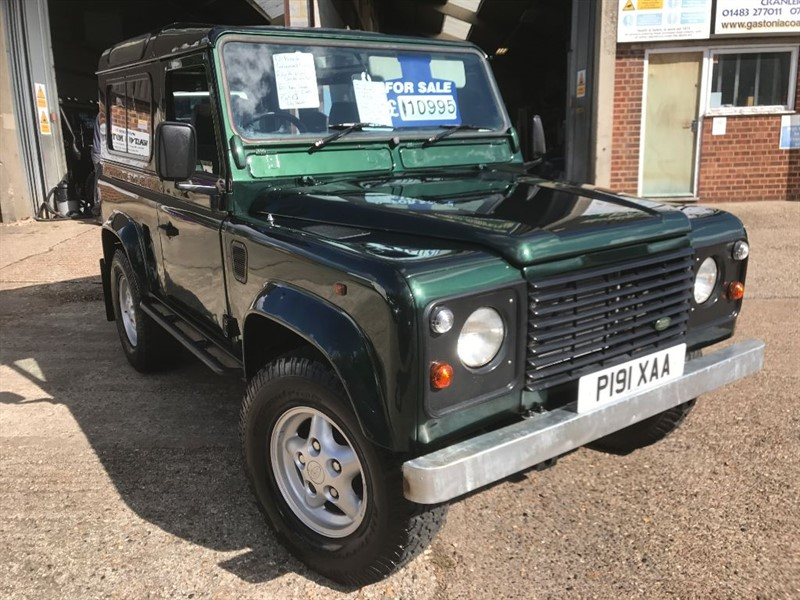 used Land Rover Defender 90 COUNTY SW TDI in cranleigh-surrey