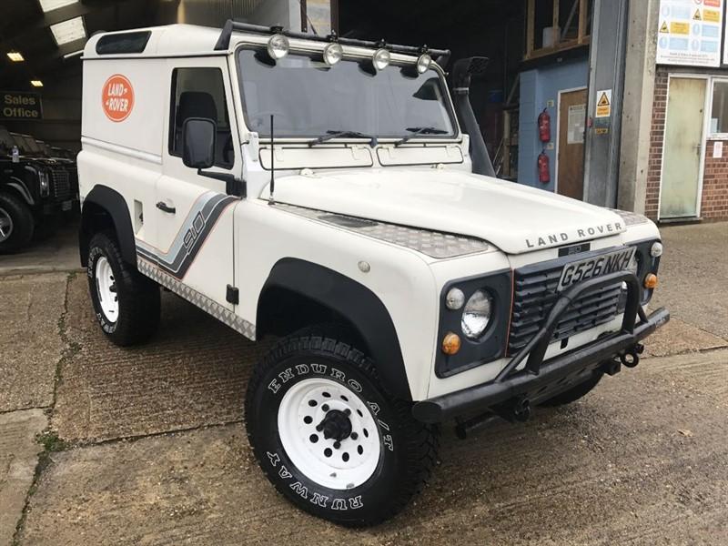 used Land Rover Defender 90 HARD TOP TURBO DIESEL in cranleigh-surrey