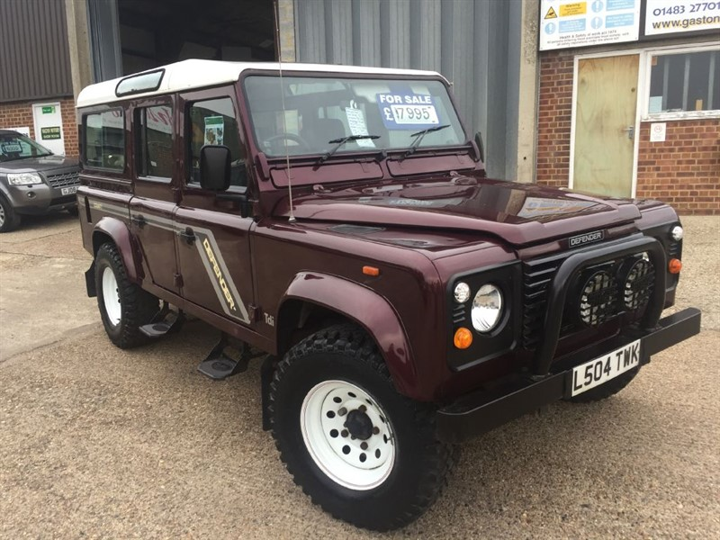 used Land Rover Defender 110 county station wagon in cranleigh-surrey